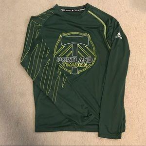 Adidas Portland Timbers Lightweight Running Shirt